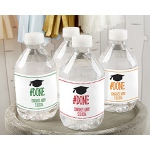 Kate Aspen Personalized Water Bottle Labels - #Done Graduation