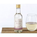 Kate Aspen Personalized Mini Wine Bottle Labels - Vineyard