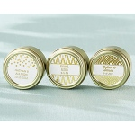 Kate Aspen Personalized Gold Round Candy Tin - Gold Foil (Set of 12)