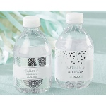Kate Aspen Personalized Water Bottle Labels - Silver Foil
