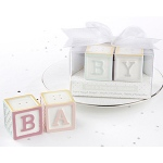 Kate Aspen Baby Blocks Salt and Pepper Shakers