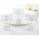 Kate Aspen Baby Blocks Favor Place Card Holders (Set of 6)
