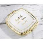 Kate Aspen Personalized Gold Compact - Gold Foil