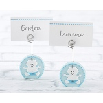 Kate Aspen Baby Boy Blue Place Card Holder (Set of 6)
