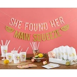 Kate Aspen She Found Her Main Squeeze 49 piece Party Kit