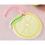 Kate Aspen Lemon Slice Luggage Tag