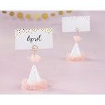Kate Aspen Pink Party Hat Place Card Holder (Set of 6)