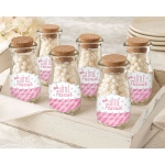 Personalized Milk Jar, Little Peanut: Set of 12