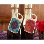 Kate Aspen Personalized Gold Bottle Opener with Epoxy Dome: Indian Jewel
