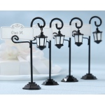 Bourbon Street, Streetlight Place Card Holder with Coordinating Place Cards: Set of 4