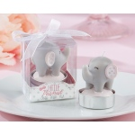Kate Aspen Little Peanut Elephant-Shaped Candle: Set of 4