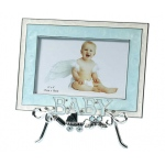 Lillian Rose Baby Stand & Frame: Blue