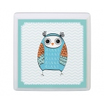 Lillian Rose Blue Owl Sm Square Sign