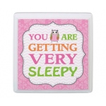 Lillian Rose Pink Owl Sleep Sign