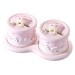 Lillian Rose Pink Owl Tooth & Curl Box