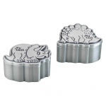 Lillian Rose Dinosaur Pewter Tooth & Curl Box