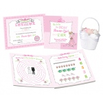 Lillian Rose Flower Girl Activity Book