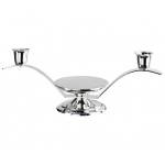 Lillian Rose 3 in 1 Silver Candle Holder