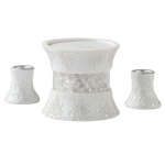 Lillian Rose 3 Pc Candle Holder Set