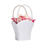 Lillian Rose Elegant Wedding Basket White