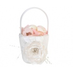 Lillian Rose Chic & Shabby Flower Basket