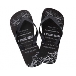 Lillian Rose Men's True Love Flip Flops - Large (12)
