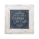 Lillian Rose Cards Framed Square Sign - Black