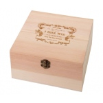 Lillian Rose True Love Wooden Card Box