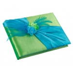 Lillian Rose Blue & Green Guest Book