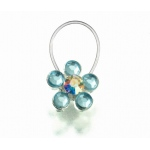 Lillian Rose Something Blue Toe Ring