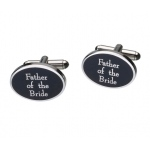 Lillian Rose Father of Bride Cufflinks