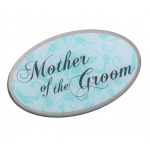 Lillian Rose Mother of Groom Pin - Aqua