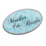 Lillian Rose Mother of Bride Pin - Aqua