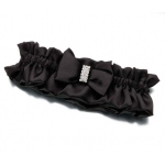 Lillian Rose Rhinestone Garter - Black