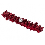 Lillian Rose Sequin Garter - Red