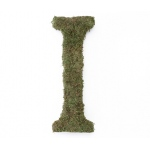 Lillian Rose Large 15 inch Moss Monogram Letter - I