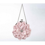 Lillian Rose Flower Purse - Pink
