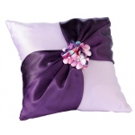 Lillian Rose Radiant Flower Ring Pillow