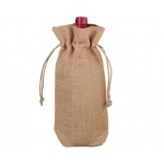 Lillian Rose Burlap Wine Bag - Blank