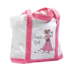 Lillian Rose Flower Girl Nylon Tote